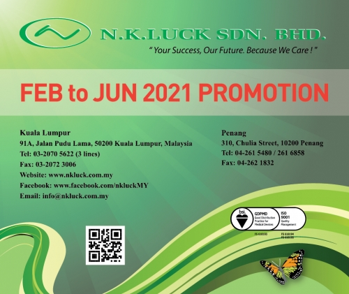 FEB to JUN 2021 PROMOTION