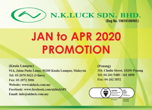 JAN to APR 2020 PROMOTION